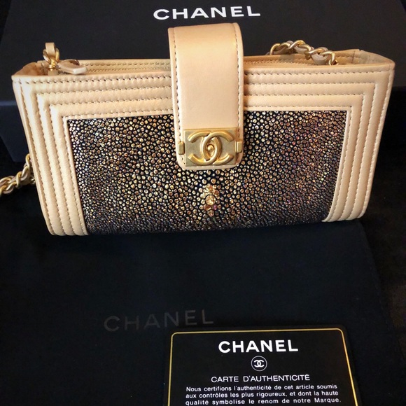 e028f0e7fb85 CHANEL Bags | Le Boy Stingray Pochette Wallet On Chain | Poshmark